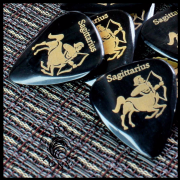 Zodiac Tones - Sagittarius - 1 Guitar Pick | Timber Tones